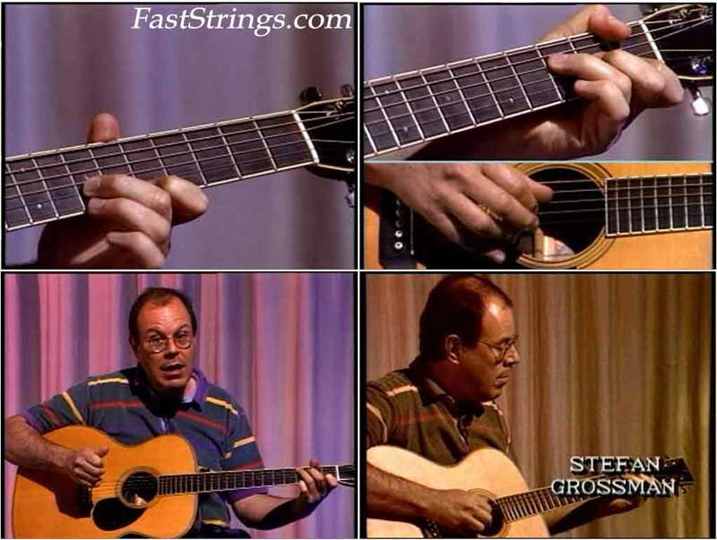 Stefan Grossman - Fingerpicking Country Blues Guitar