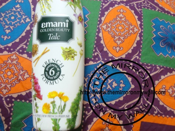 Emami Golden Beauty Alpine Dew Talc