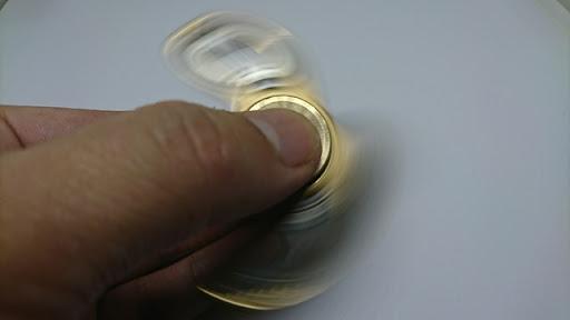 DSC 1983 thumb%25255B2%25255D - 【小物】「ハンドスピナー」フォトレビュー。くるくる回す奴、また買っちゃいました。チタン製と真鍮かっこいいよ!