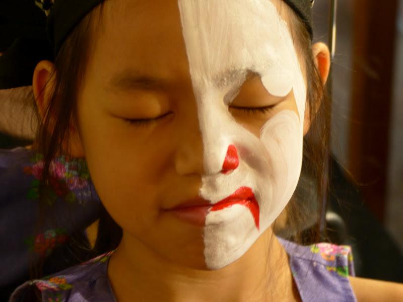 Taipei. Maquillage au Thinker s theater à Di Rua jie 迪化街 - maquillage1%2B032.JPG