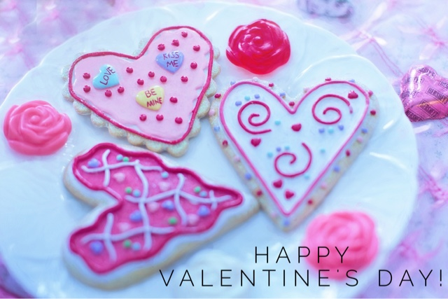 Cookies-on-Valentine's-day