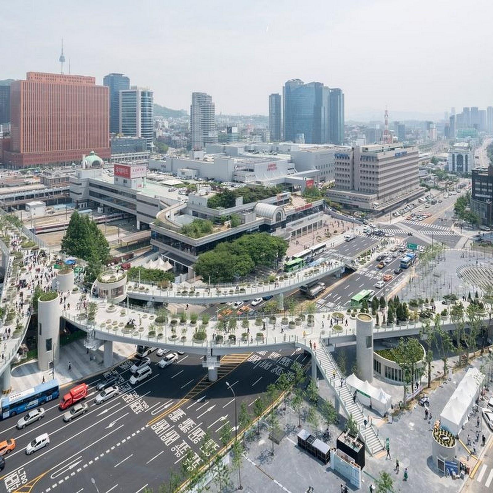 Seoul's Floating Skygarden