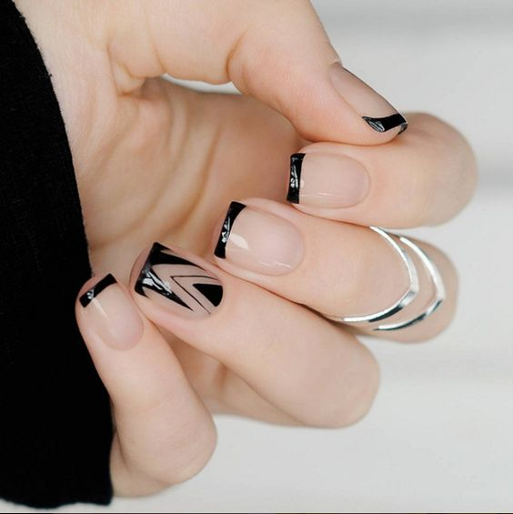 Latest French Nail Art Ideas For Girls In 2018 3