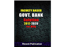 Faculty Based Govt. Bank Solution For MCQ - PDF