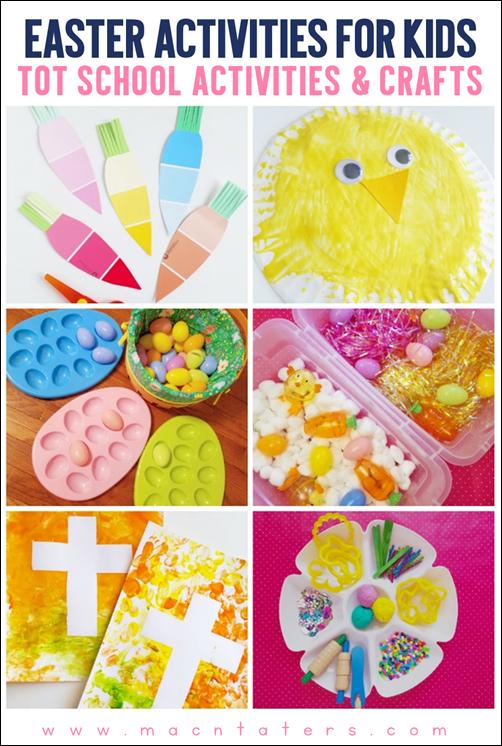 Easter Tot School Activities