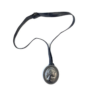 Coach Cameo Pendant Necklace