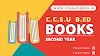 CCSU B.Ed 2nd year Question Paper Bank, Books and Sample Papers
