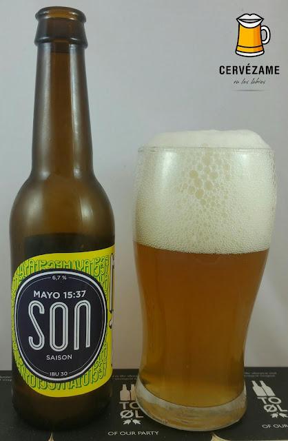 cerveza Son Mayo 15:37 cervezame
