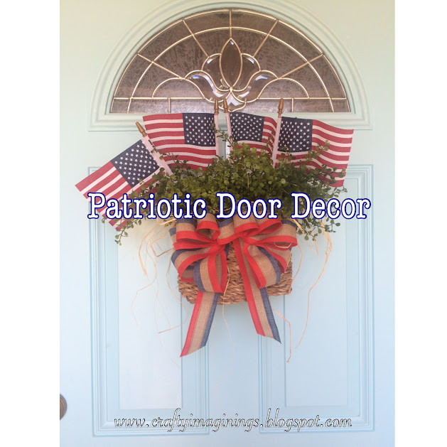 Patriotic Door Decor