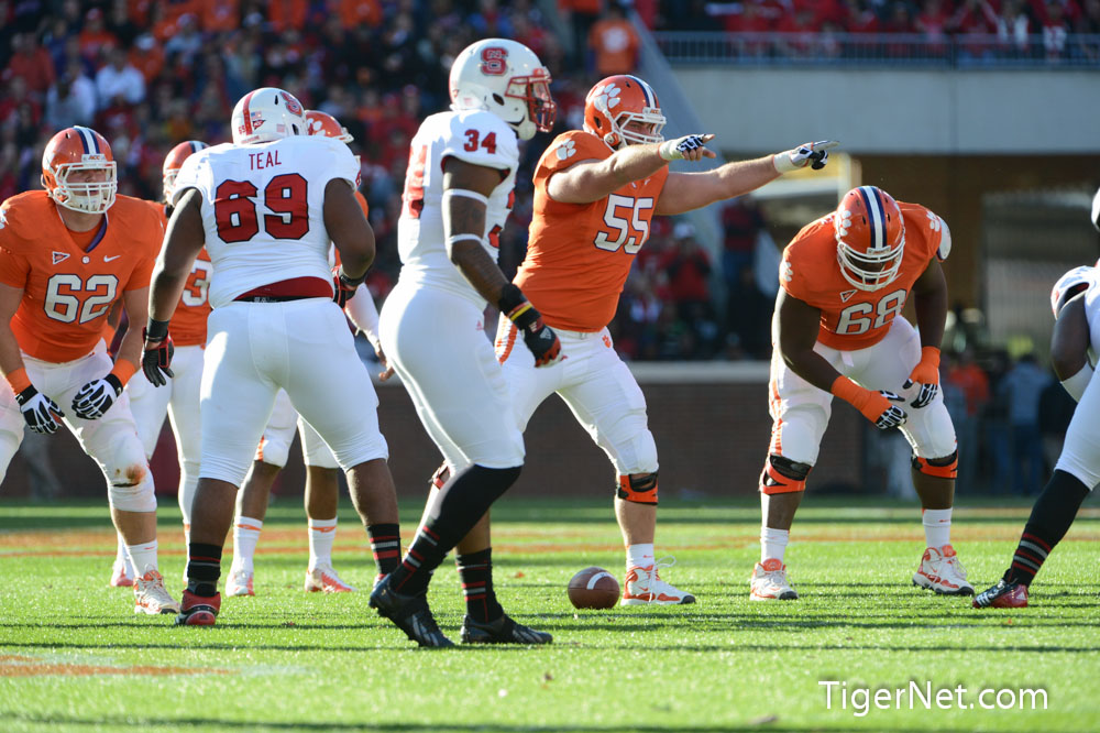Clemson vs. NC State Photos - 2012, Dalton Freeman, Football, NC State