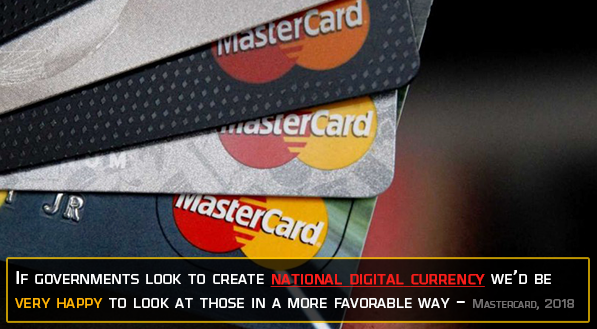 MasterCard in favor of digitization through private blockchain technology