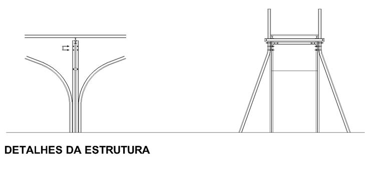 Passarela EFOM- details