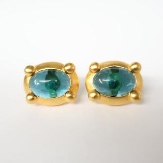Karl Lagerfeld Oval Earrings