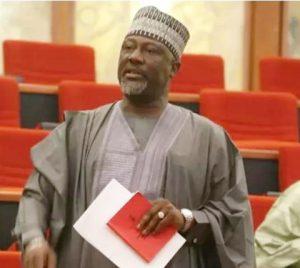 Plot To Arrest Dino Melaye Fails As Senator Attends Late Buba Jibril Fidau Prayer In Lokoja