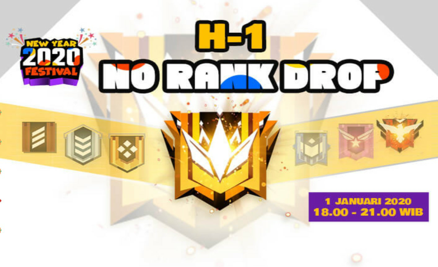Arti No rank drop Free Fire 2020
