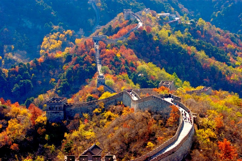 Autumn in Mutianyu