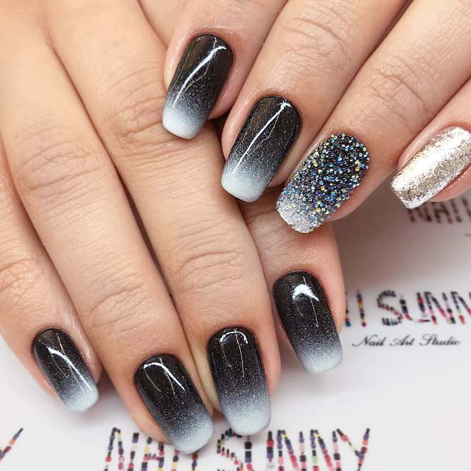 New Squoval Nails Designs for Fashion Girls - New Squoval Nails Designs For Fashion Girls - Fashionist Now
