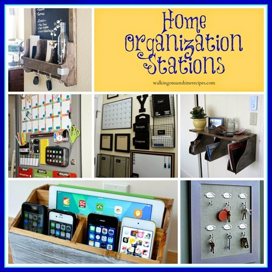 home organization stations promo