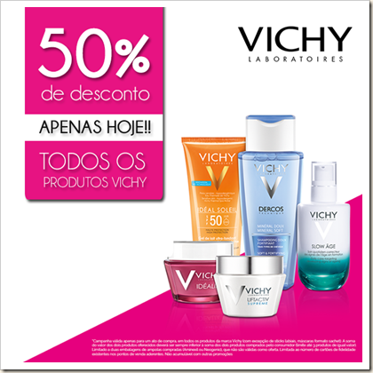 Descontos Vichy
