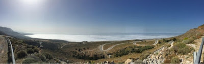 Sfakia, low cloud concentration