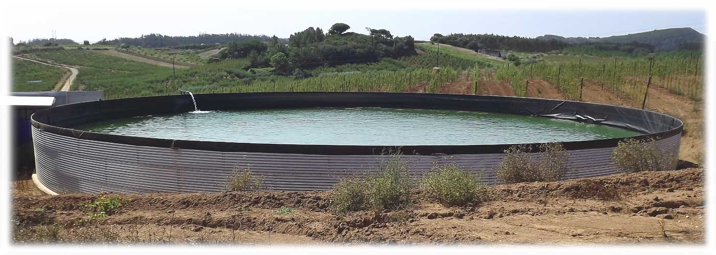 Reservatórios Comercializamos e instalamos reservatórios para regas, água potável e adubos.