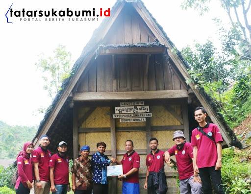 BNNK Sukabumi Bangun 4 Leuit di Kampung Adat Korban Longsor Cisolok Sukabumi