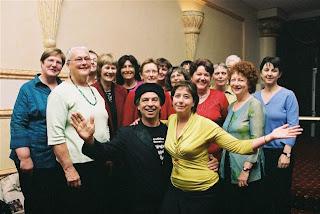 22 Volunteers community dinner 2007