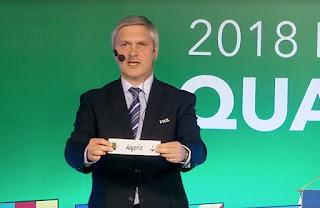 CM 2018 : Le calendrier de l'Algérie