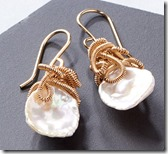 Sarah Hickey Keshi pearl drop earrings