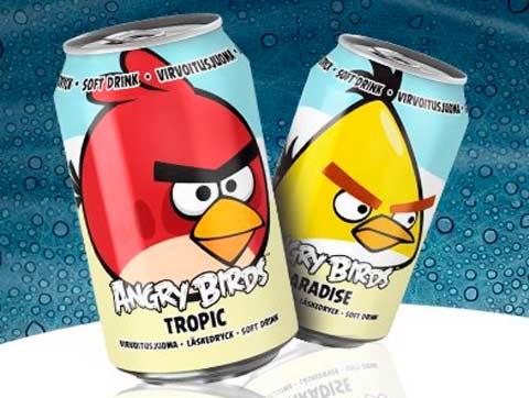 bebida angry birds