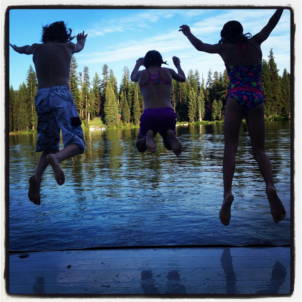 A flying leap into the lake will cure what ails ya.