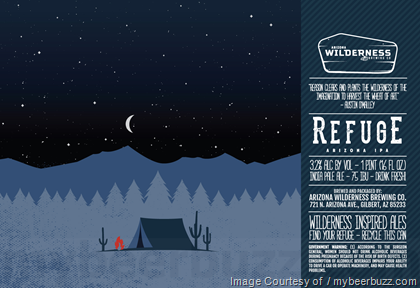 Arizona Wilderness Adding Refuge Arizona IPA, American Presidential Stout, Blanc, Pine Mountain & Watermelon Gose 16oz Cans
