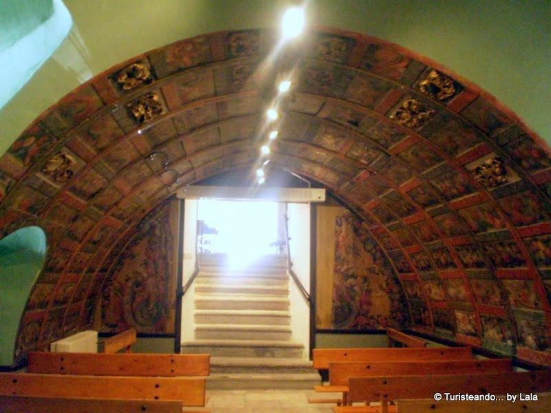 Cripta de la Soterraña, Iglesia de San Miguel, Olmedo