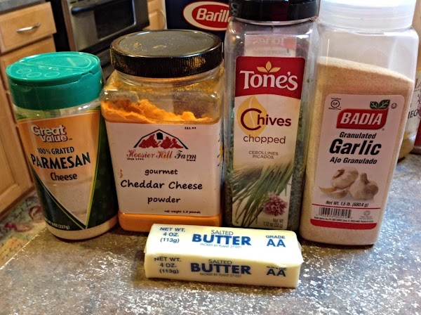 These are the basic ingredients for the recipe. Except for the Texas Toast. You...