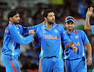 Yuvraj Singh did all-round job as he notched up century and two wickets, India v West Indies, Group B, World Cup 2011, March 20, 2011