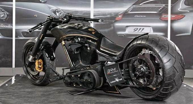 Porsche Custom Motorcycles by Custom Wolf