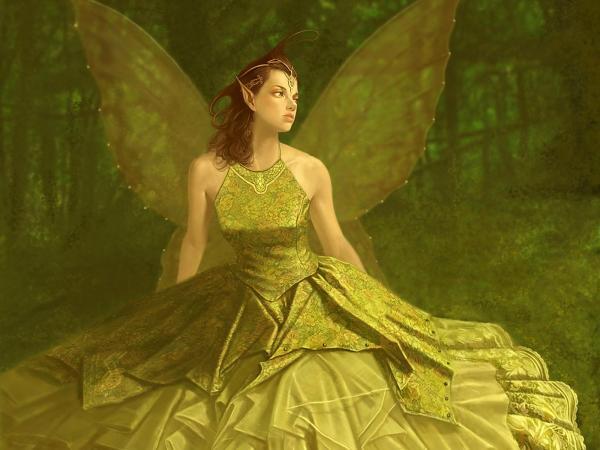 Fairy In A Green Dress, Fairies 3