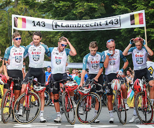Deux Belges ont renoncé au BinckBank Tour pour Bjorg Lambrecht