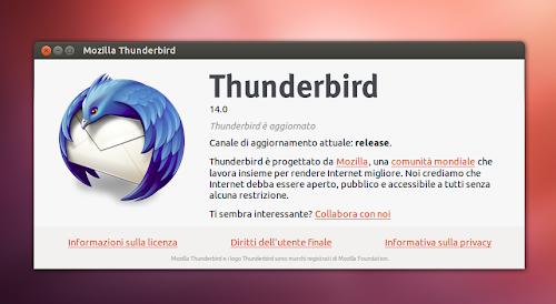 Mozilla Thunderbird 14