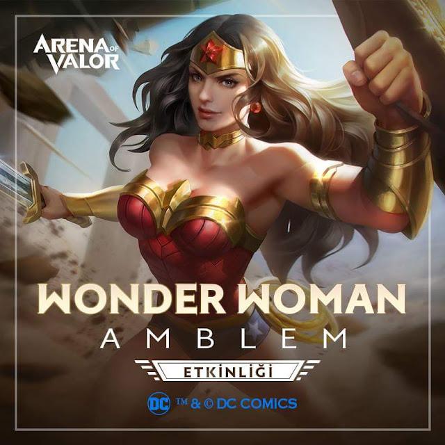 Wonder Woman Etkinliği - Arena of Valor