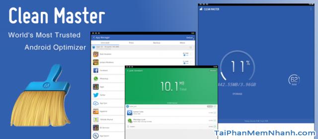 Tìm hiểu ứng dụng Clean Master