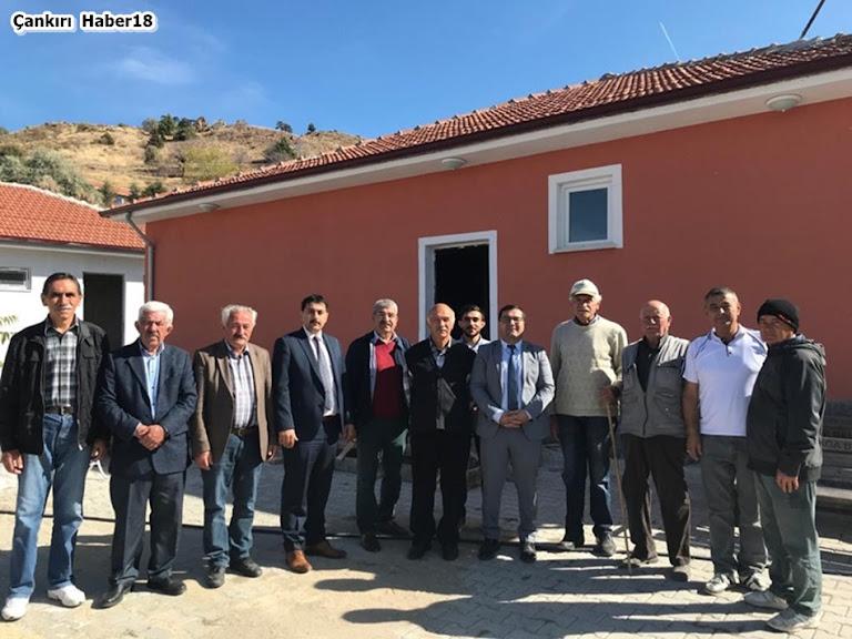 Şabanözü Kaymakam Vekili Ferhat ALTAY Büyükyakalı ve Çapar Köylerini Ziyaret Etti