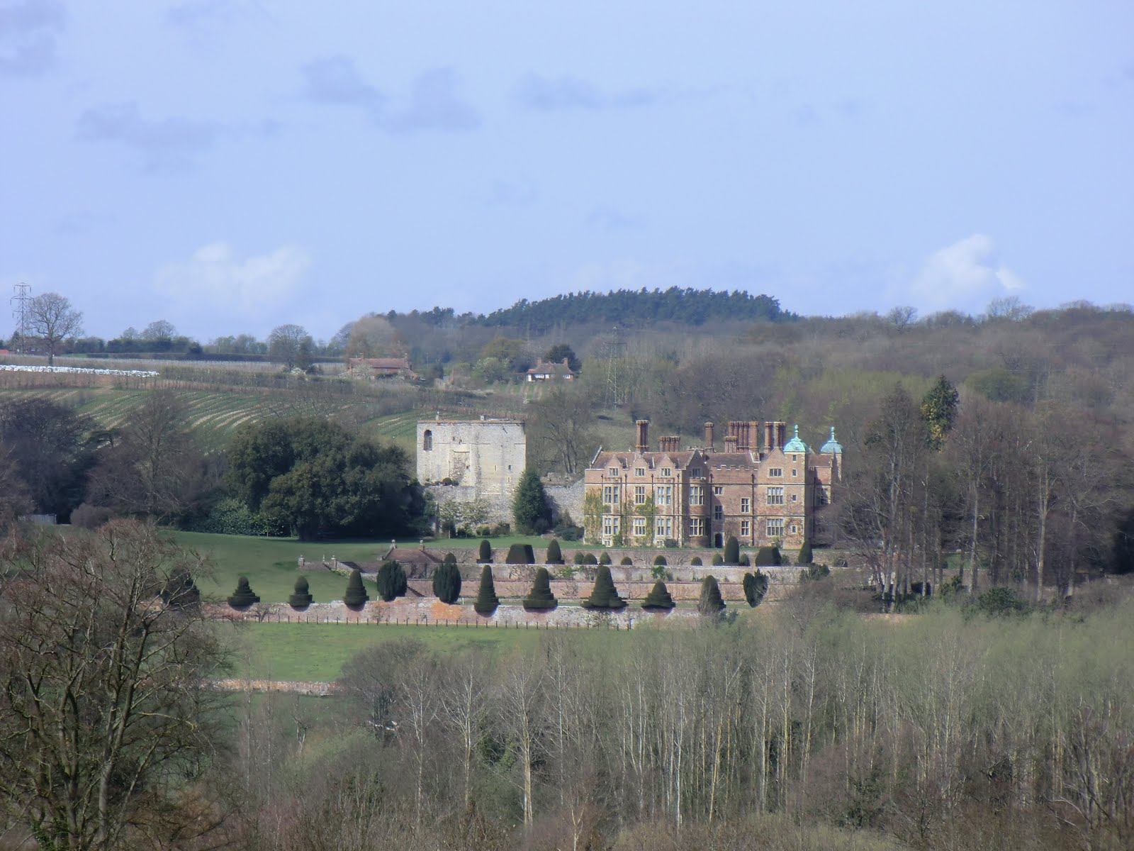 CIMG2502 Chilham Castle from Julliberrie Downs