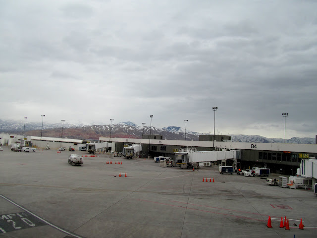 Waiting to leave SLC