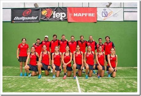 Selección Española de Pádel 2016