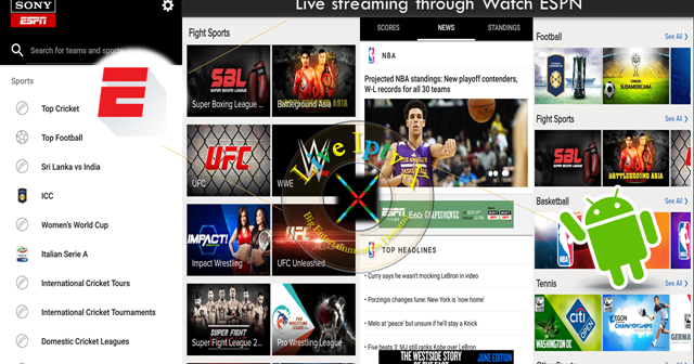 Internet Companies Near Me >> Best Streaming TV Online - ESPN Apk For Android Device ( Watch TV Stream Online ) | Live Iptv X