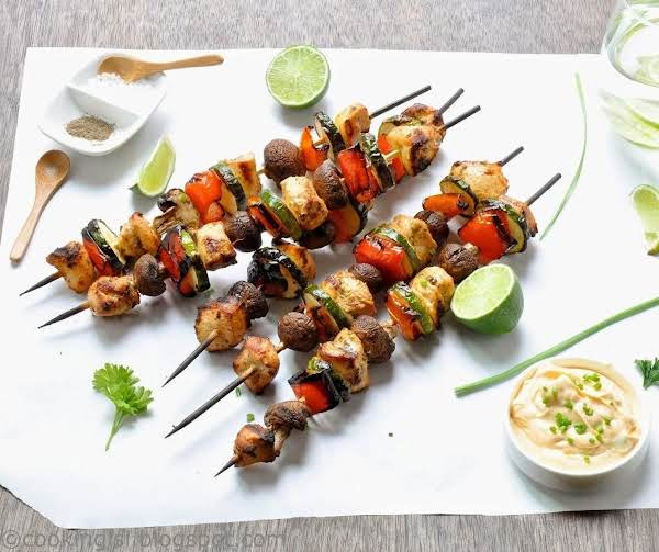 Chili-lime Chicken Kabobs