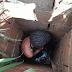 CHOCANTE: mulher é agredida e abandonada em buraco com cerca de 3 metros de profundidade