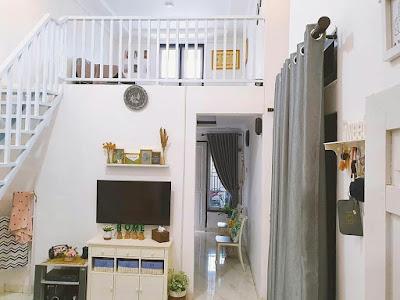 Desain ruang keluarga memanjang