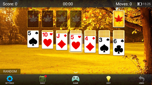 Solitaire!  gameplay | by HackJr.Pw 7